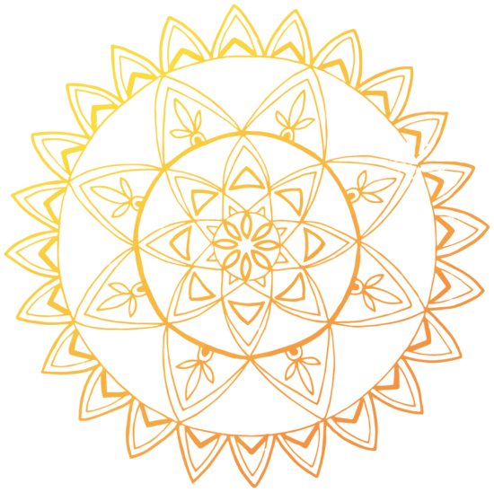 Gold Decorative Mandala
