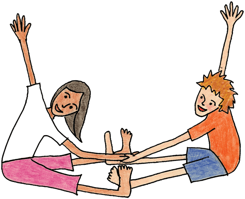 Grounded Kids Yoga Pose